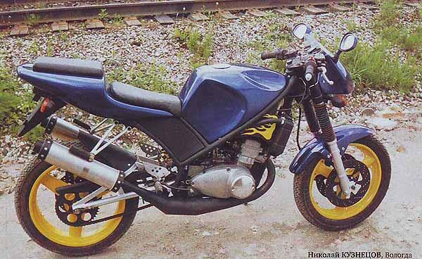 Питона тюнинг мотоцикла иж