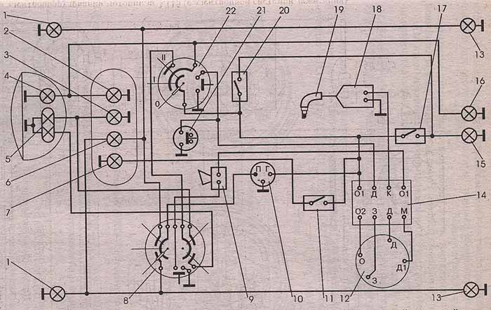Схема котлов подогрева для авто