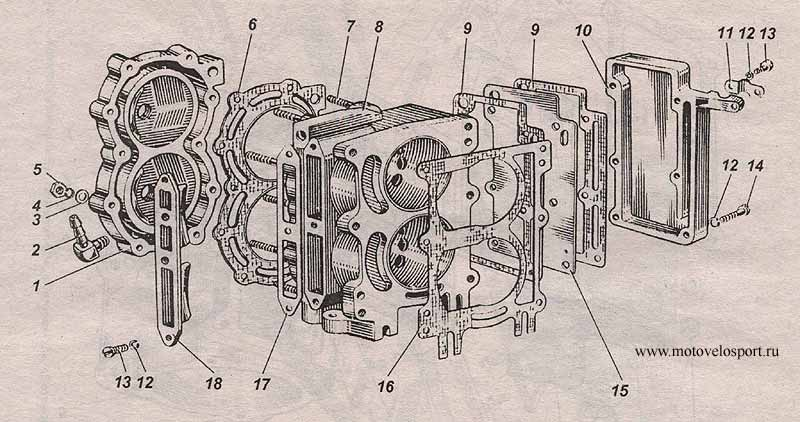 модернизация редуктора ветерок 8